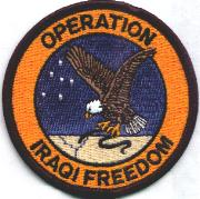 89th Airlift Squadron Patch (OIF)