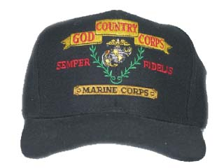 GOD, Country, Corps Ballcap