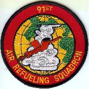 91st Air Refueling Sqdn Patch
