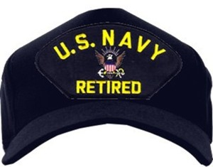 USN RETIRED Ballcaps!