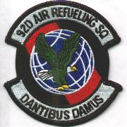 92nd Air Refueling Sqdn Patch