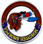 93rd Bomb Squadron Patch (Round)