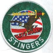 112FS 'OEF/Stingers' Det Patch