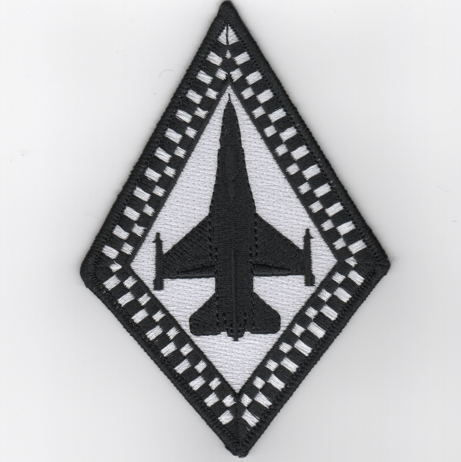 93d FS 'Aircraft' Patch (B&W)
