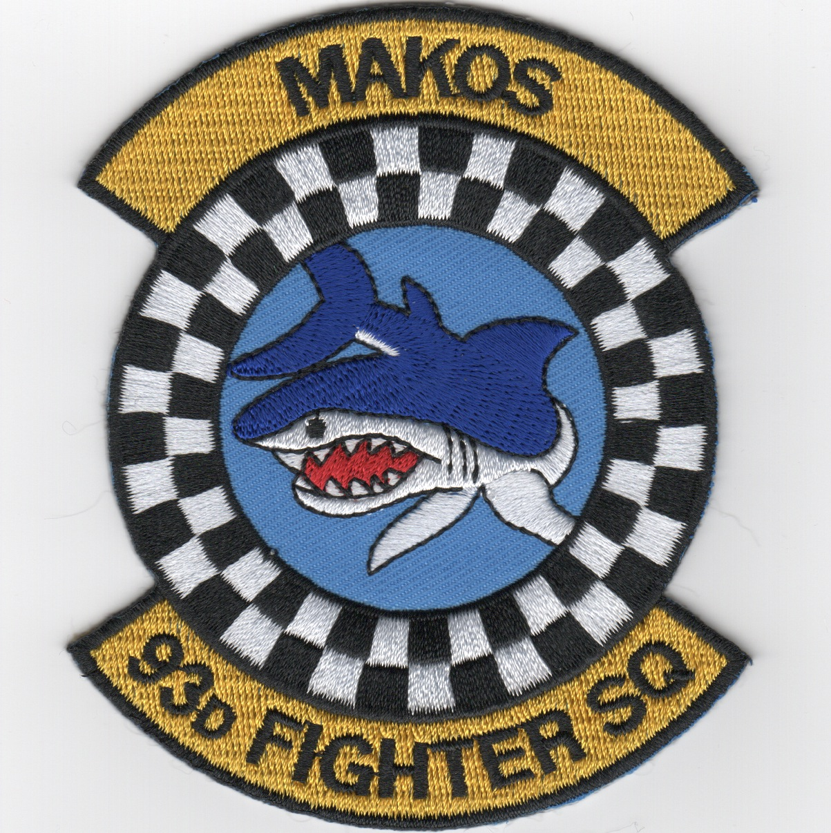 93d FS 'Makos' Patch
