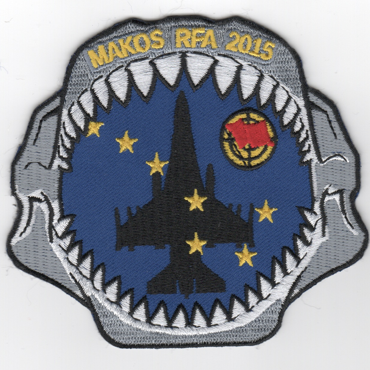93d FS 2015 'Red Flag' Patch