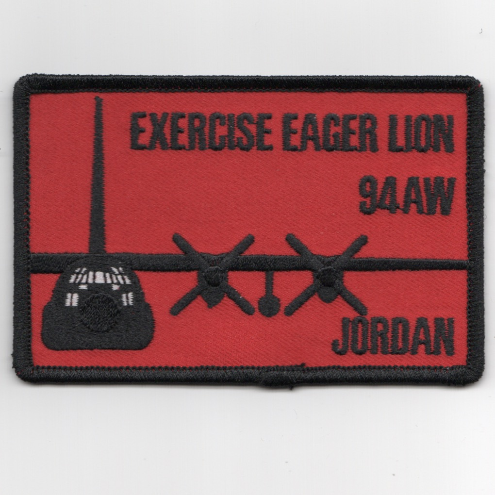 94ALW 2019 Exercise EAGER LION (Red)