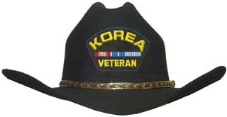 Korea Veteran Cowboy Hat