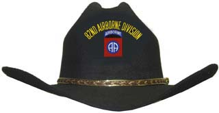 82nd Airborne Cowboy Hat