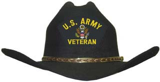 US Army (Veteran) Cowboy Hat