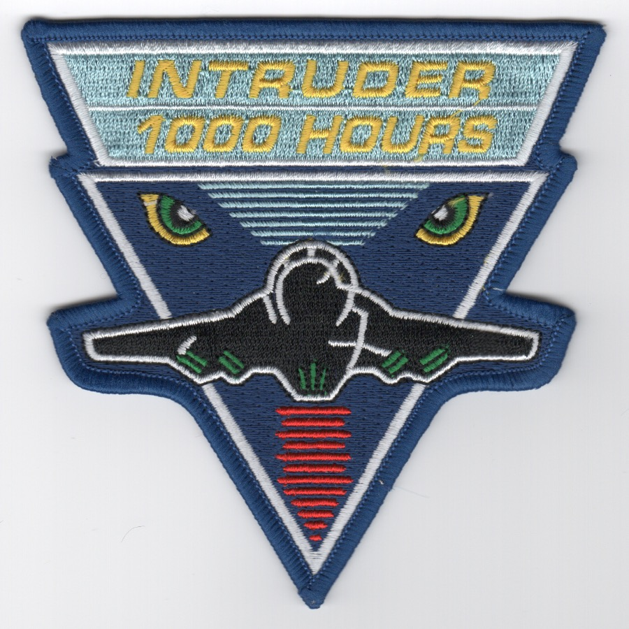A-6 Intruder '1000 Hours' Patch