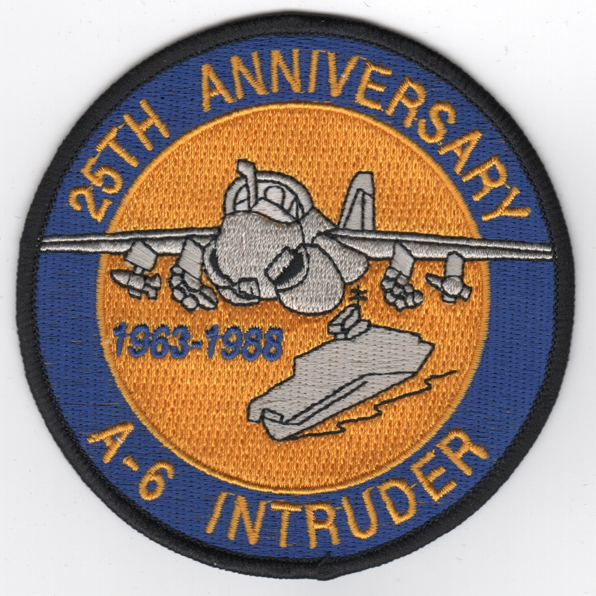 A-6 '25th Anniversary' Patch