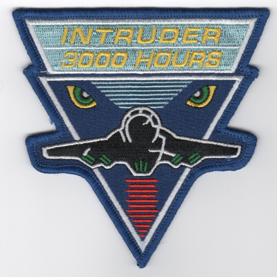 A-6 Intruder '3000 Hours' Patch