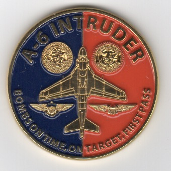 INTRUDER ASSOCIATION Coin (Back)