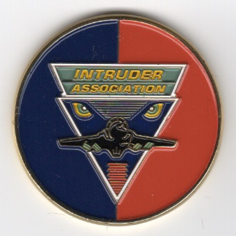 INTRUDER ASSOCIATION Coin (Front)