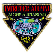 A-6E Intruder Alumni (Gold Border)