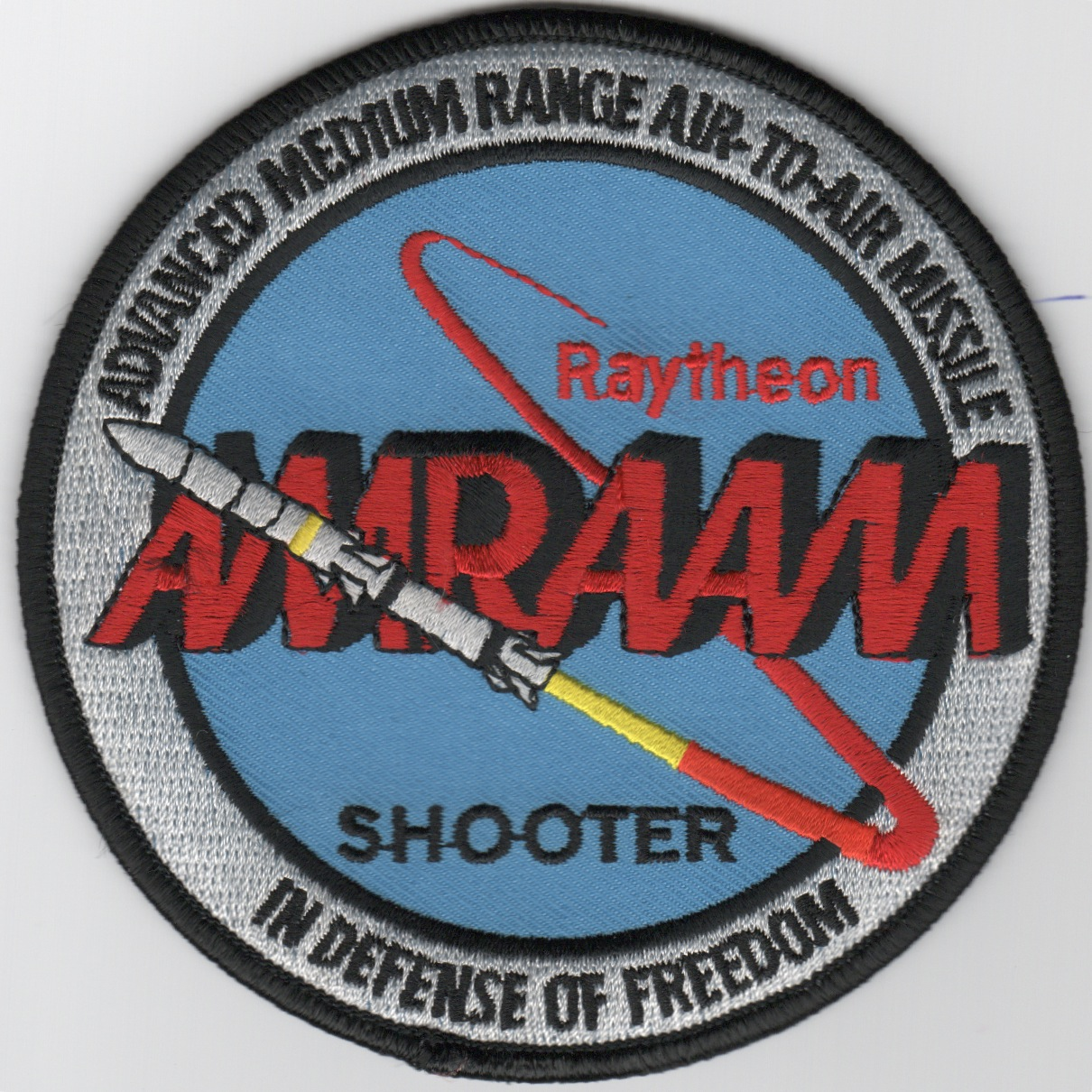 AIM-120 'AMRAAM-SHOOTER' Patch