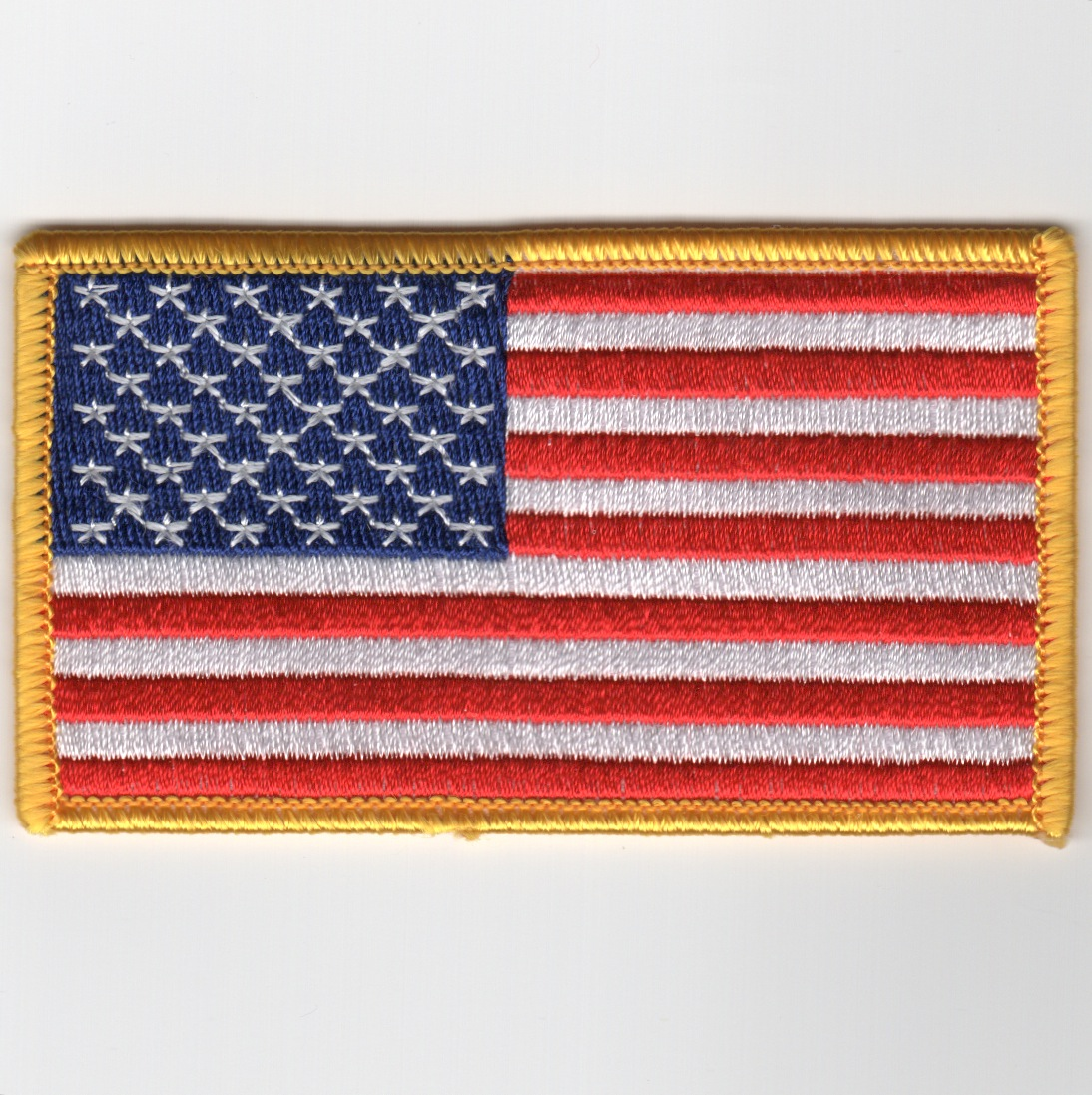 American Flag (Yellow/Med/No Velcro)