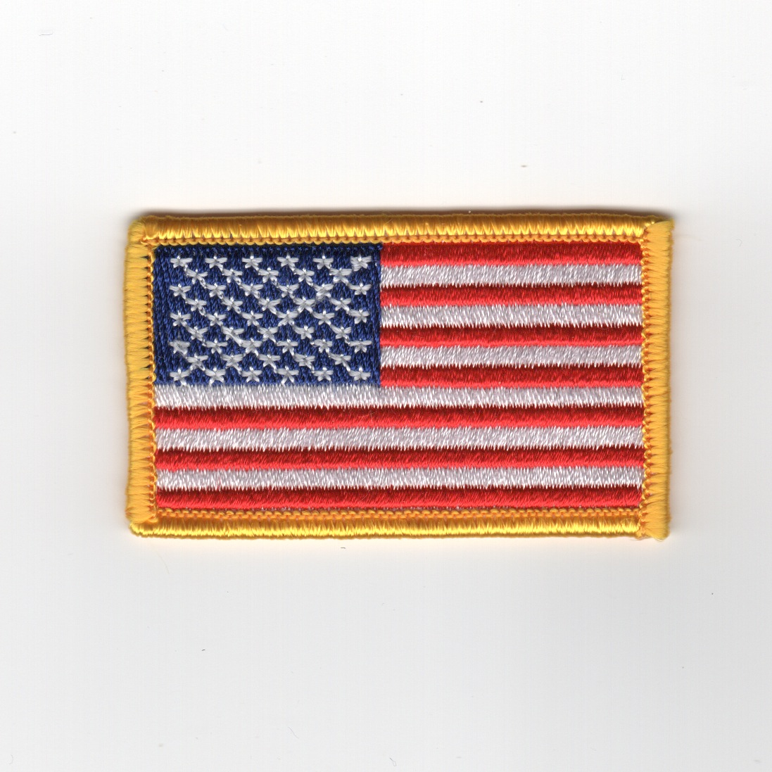 American Flag (Yellow/Small/No Velcro)