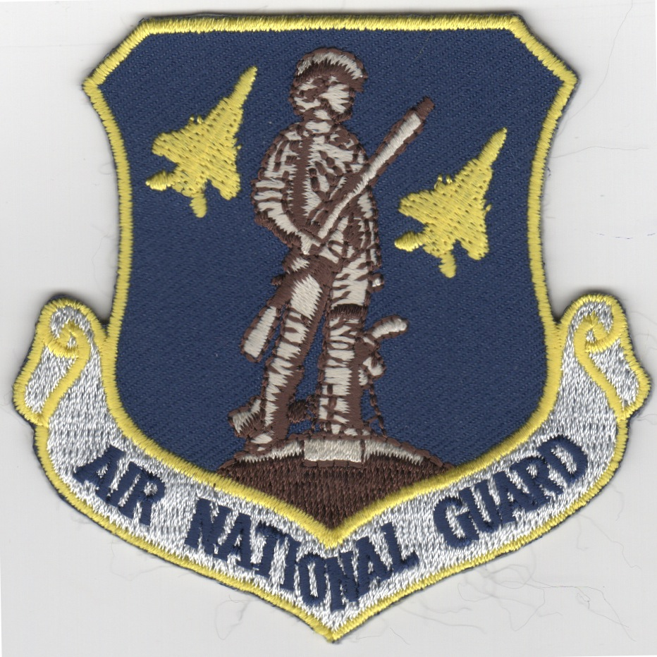 F-15C Air National Guard Crest Patch