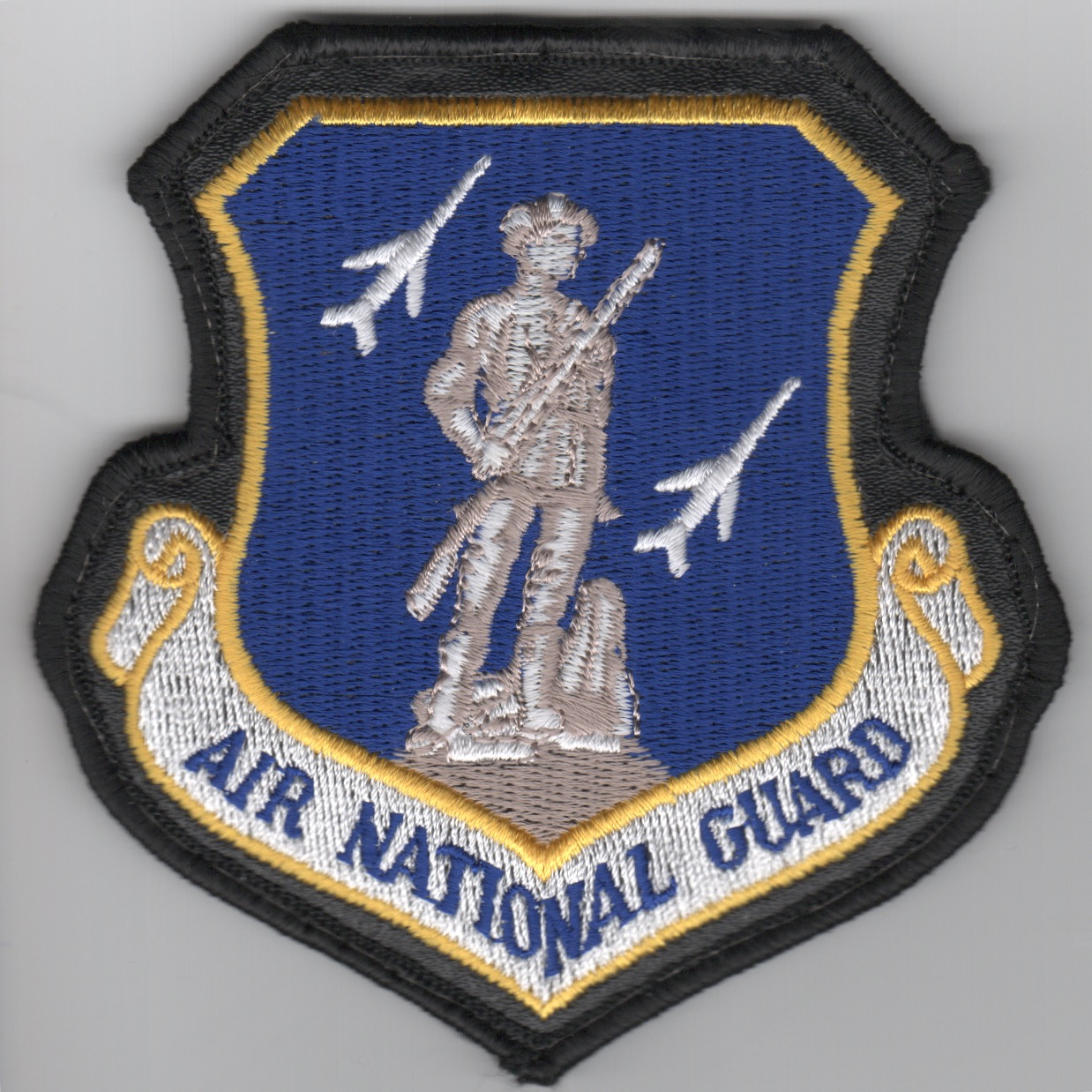 Air National Guard Crest (Blue/Large/LX Border)