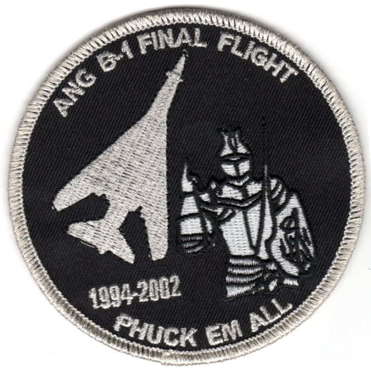 ANG B-1 'Final Flight' Patch (Phuck 'Em)