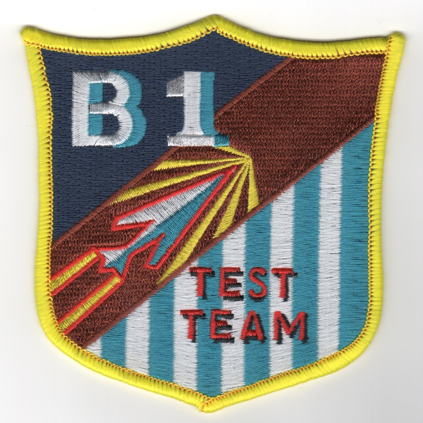 B-1B Test Team Patch