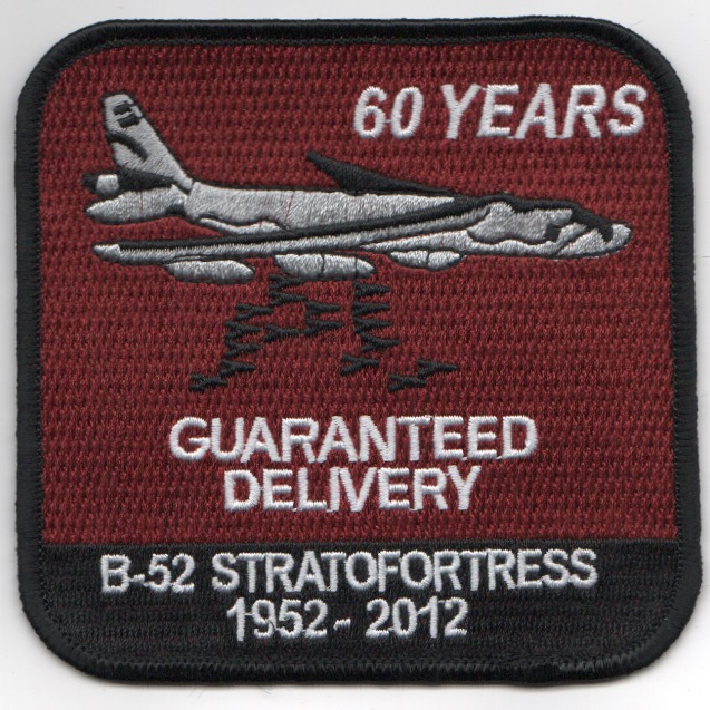 B-52 '60-YEARS' Patch (Red)