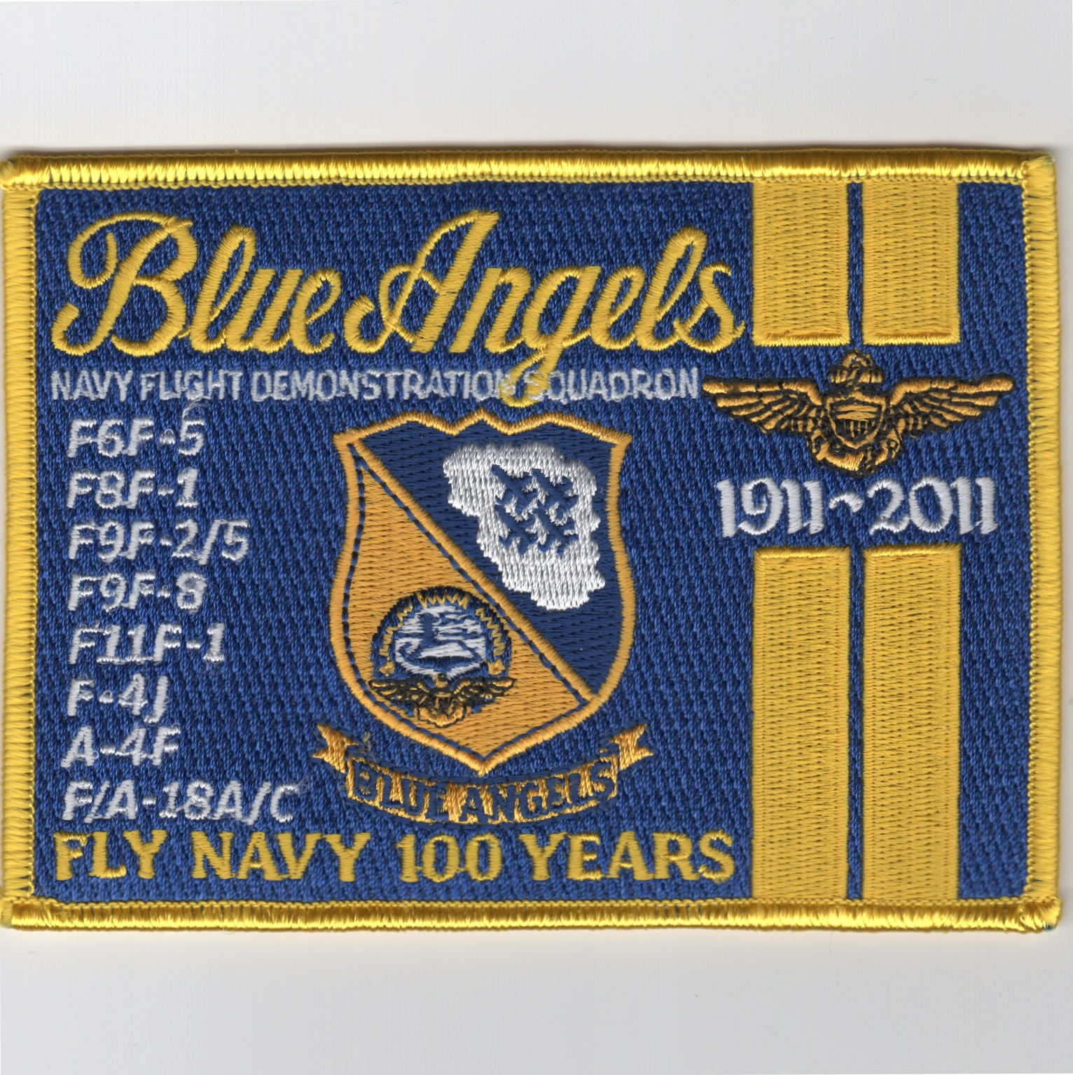 Blue Angels '100th Anniversary' (Square)