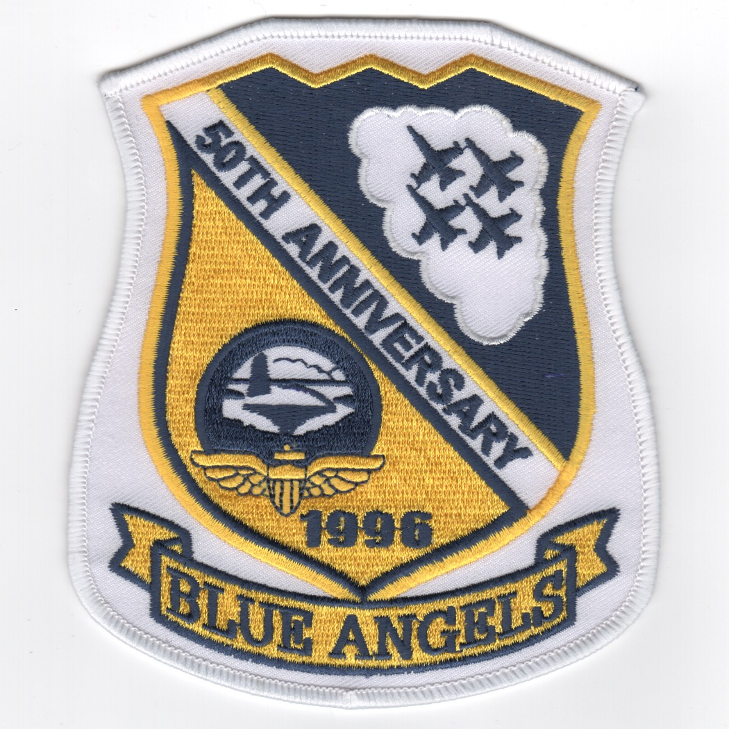 Blue Angels 50th Anniversary Shield