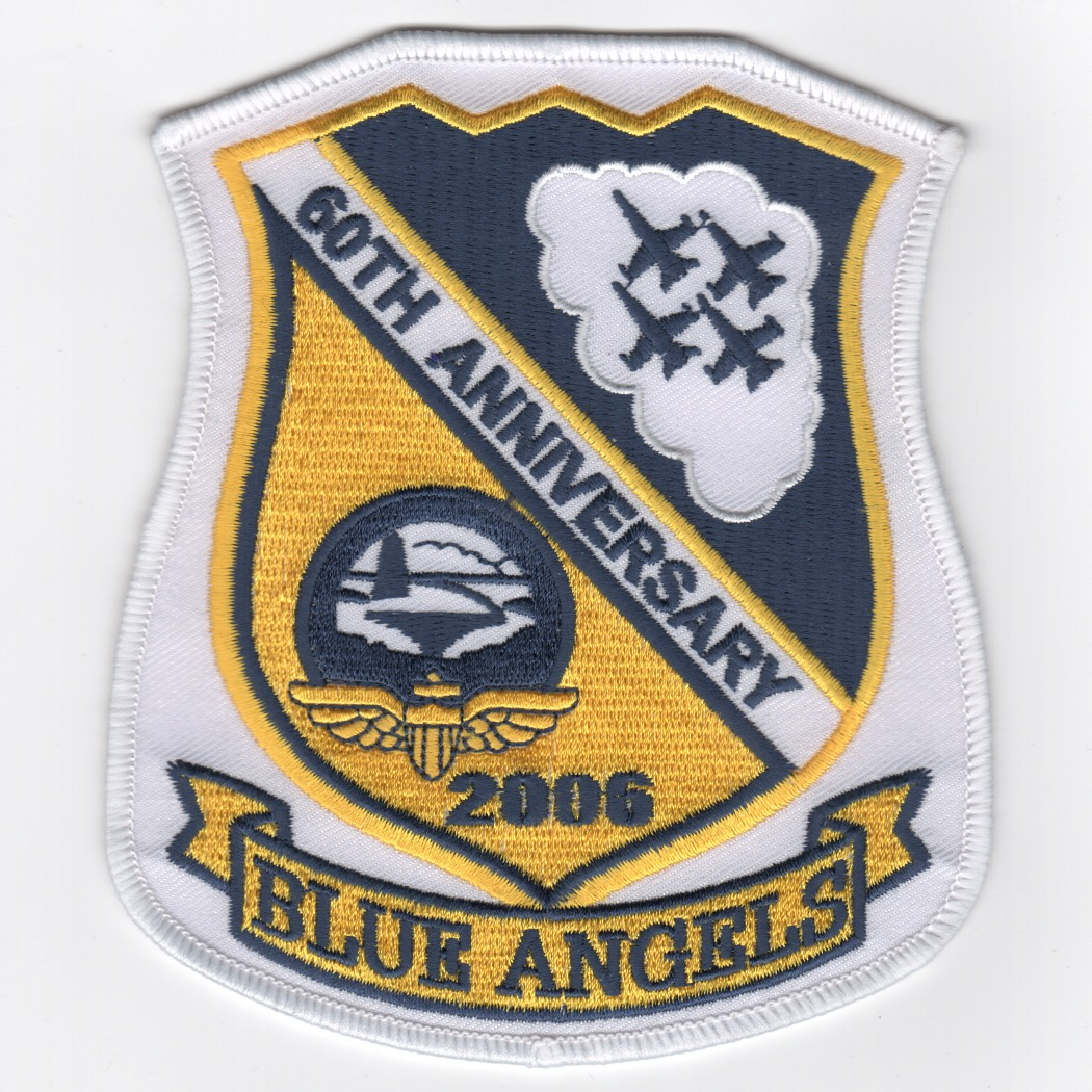 Blue Angels 60th Anniversary Shield