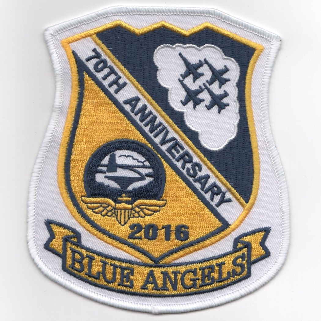 Blue Angels 70th Anniversary Shield