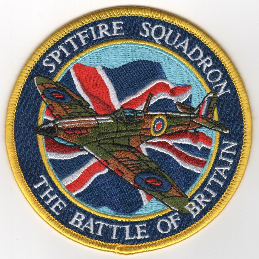 Battle of Britain-Spitfire Squadron Patch
