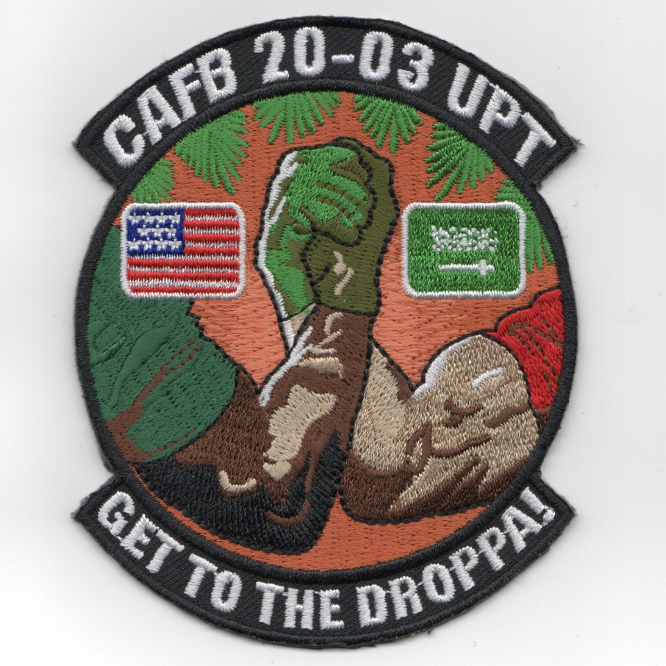 Columbus AFB Class 20-03 'DROPPA' Patch