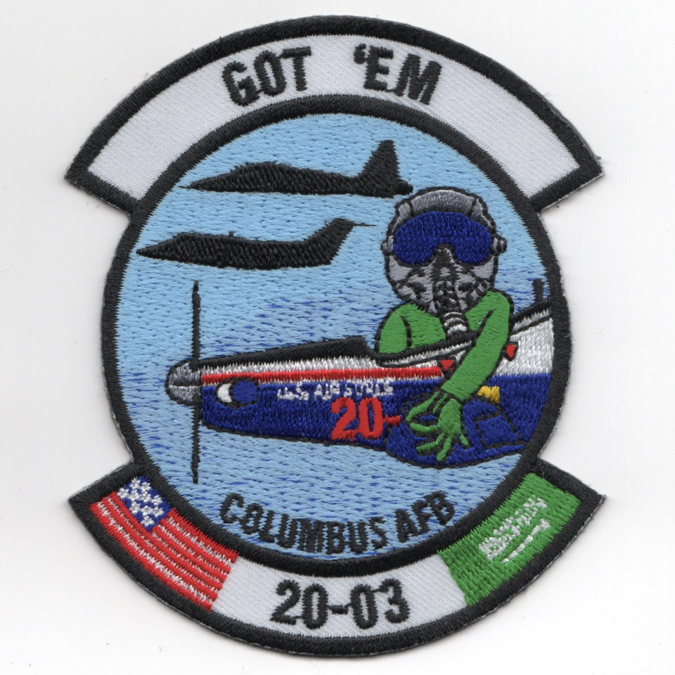 Columbus AFB Class 20-03 'GOT EM' Patch