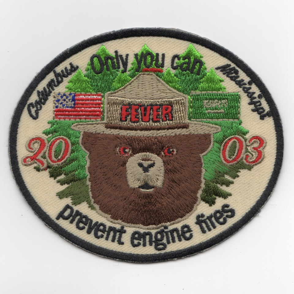 Columbus AFB Class 20-03 'SMOKEY' Patch