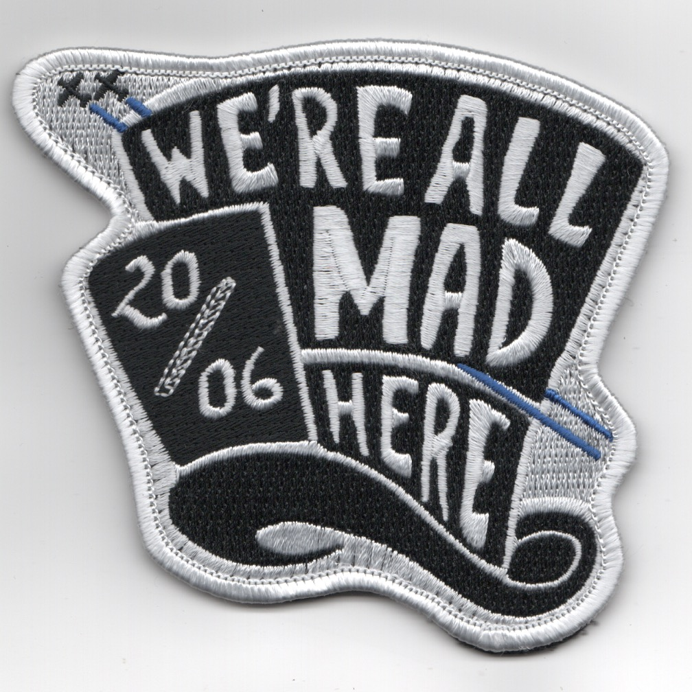 Columbus AFB Class 20-06 'MAD HERE' Patch