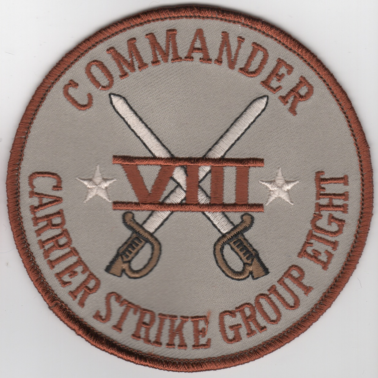 CDR, Carrier Strike Group-8 Patch (Des)