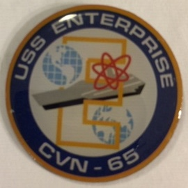 Lapel Pin: CVN-65 USS Enterprise