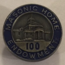 GA Masonic Home ENDOWMENT Pin (100)