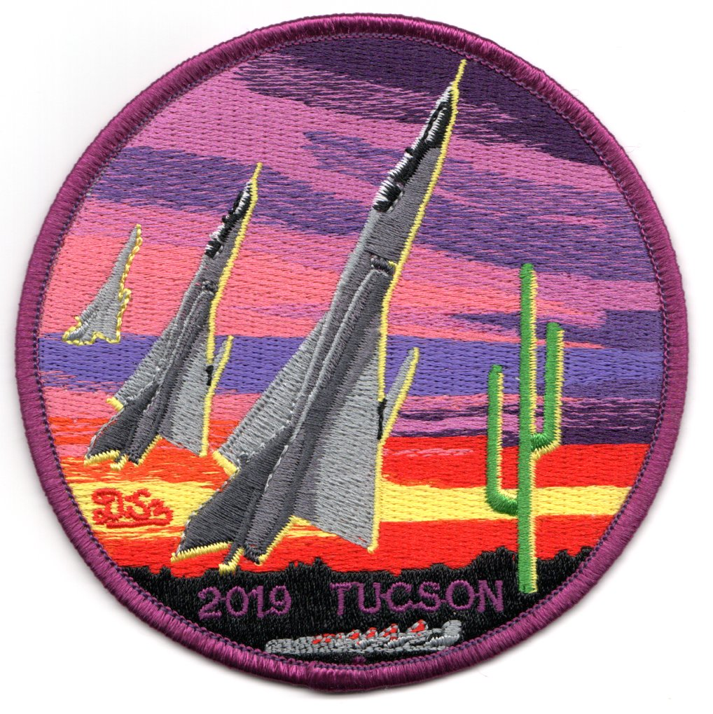 F-106 2019 '3 AC over Tucson, AZ' (Purple)