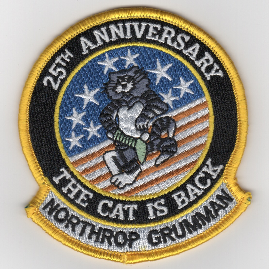 F-14 Tomcat '25th Anniversary' Patch