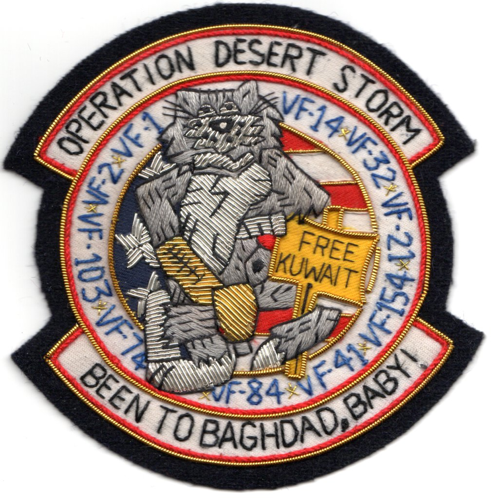 F-14 Tomcat 'Operation Desert Storm' (Bullion)