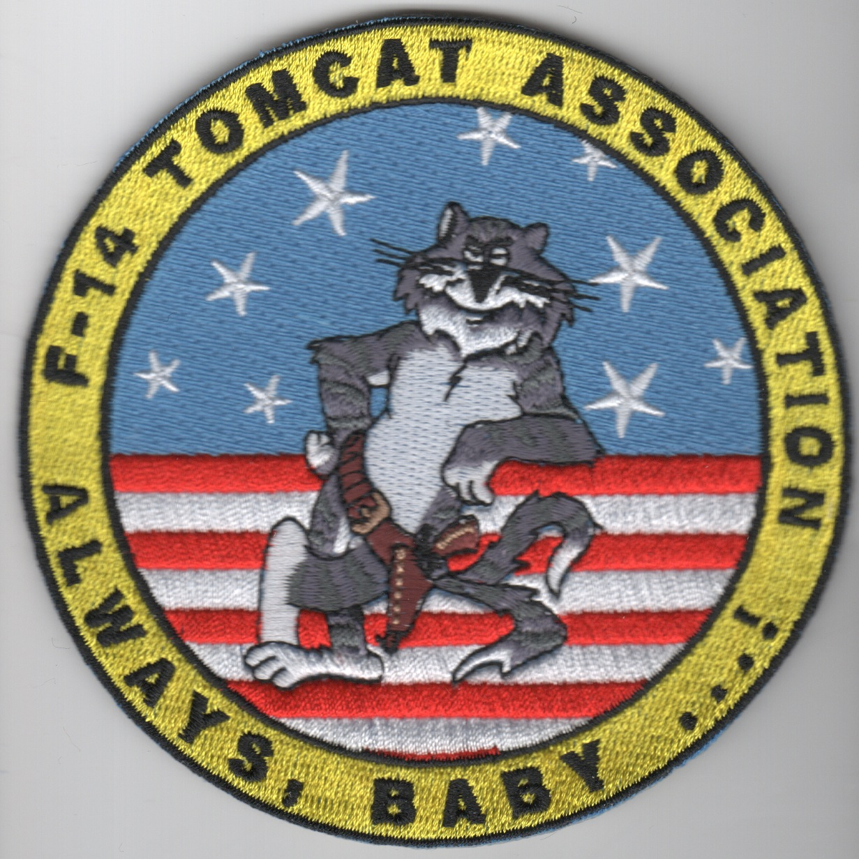 Tomcat Association Patch (No Velcro)