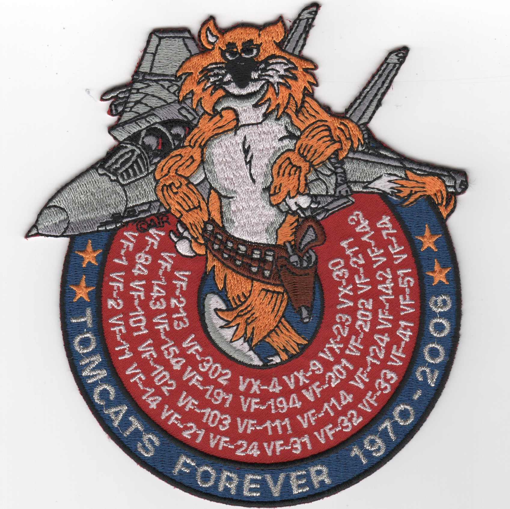 F-14 'Tomcats Forever' Patch
