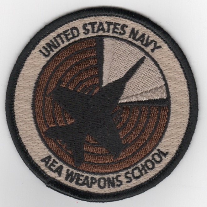 F-18 'AEA Weapons School' Bullet Patch (Des)