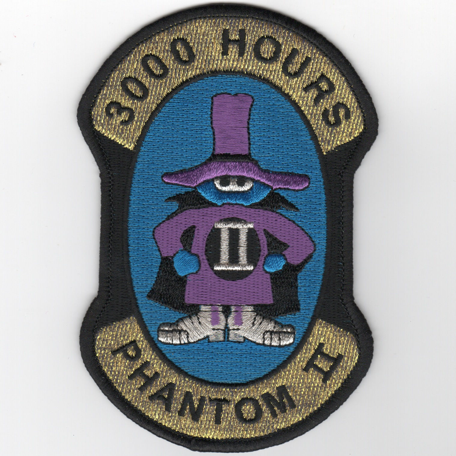 F-4 '3000 Hours' Patch