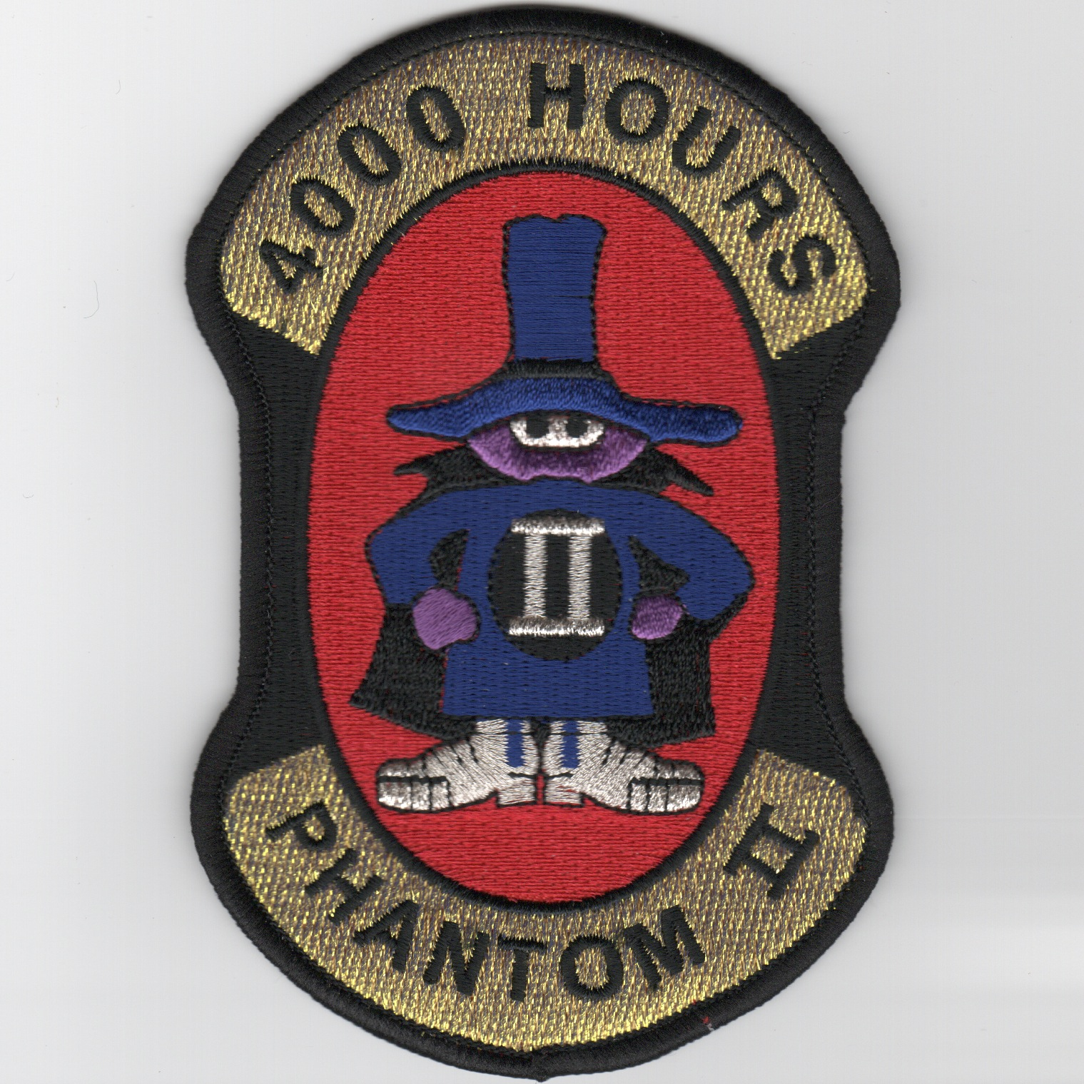 F-4 '4000 Hours' Patch