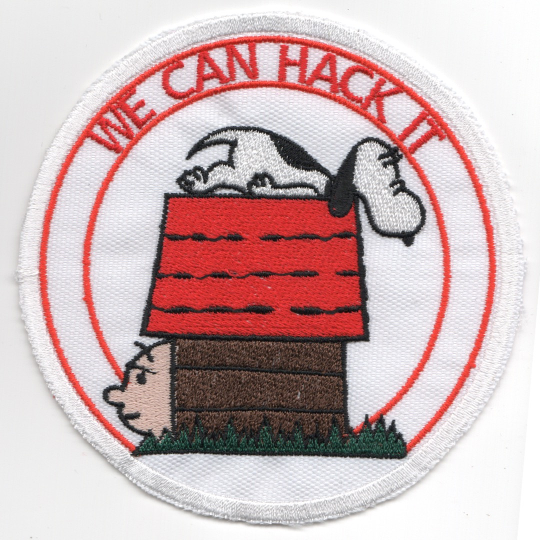 (Repro) F-4 Vietnam-era 'CAN HACK IT' (White)