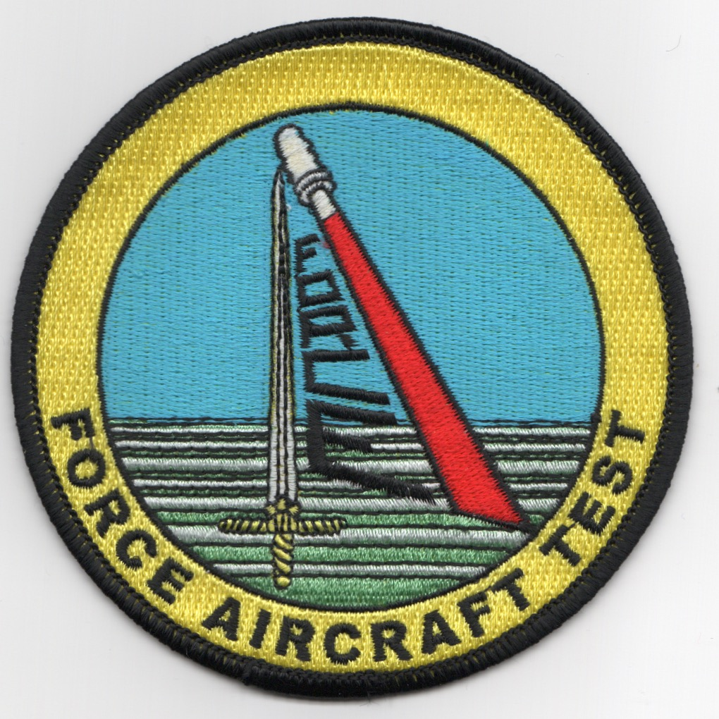 VX-20 'FORCE' Aircraft Test Patch